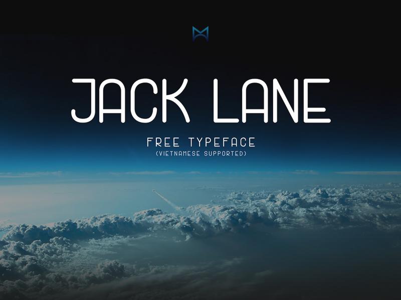 Jack Lane Display Free Font