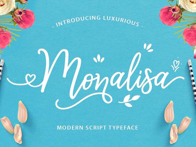 Monalisa Luxurious Free Font
