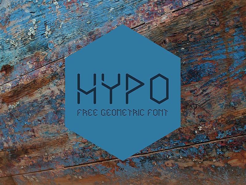 Hypo – Free Geometric Font