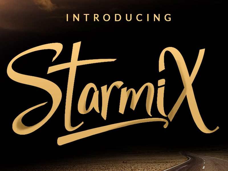 StarmiX Script Font