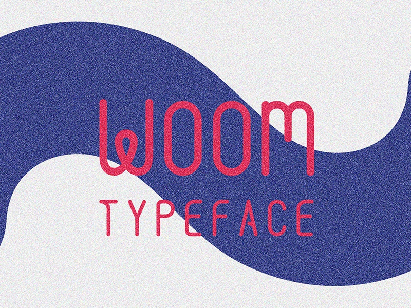 Woom Free Typeface