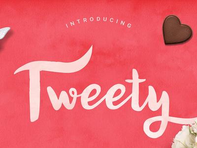 Tweety Sweety Script Free Font typefaces typeface fonts font download portfolio design graphic freebies freebie free