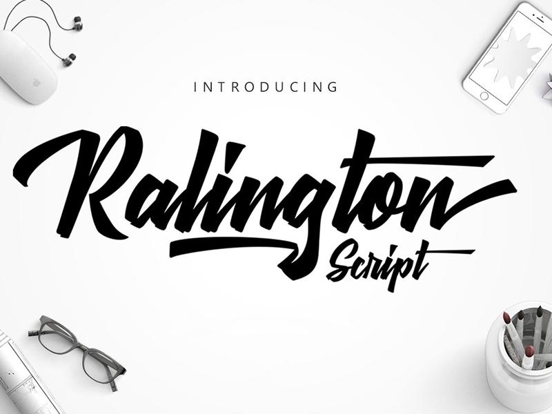 Download Ralington Script Free Font