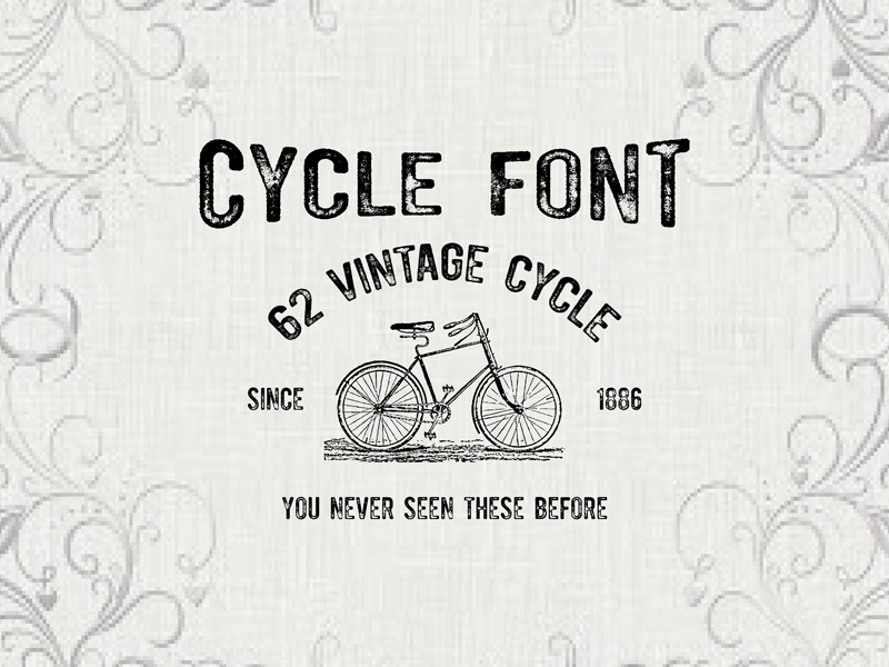 Cycle Free Font