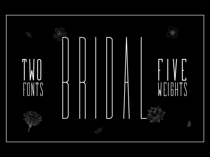 Bridal Sans Serif Font