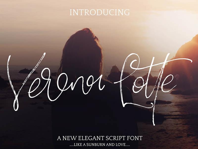 Verona Lotte Script Free Font