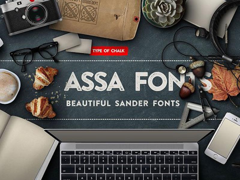 Assa Typeface