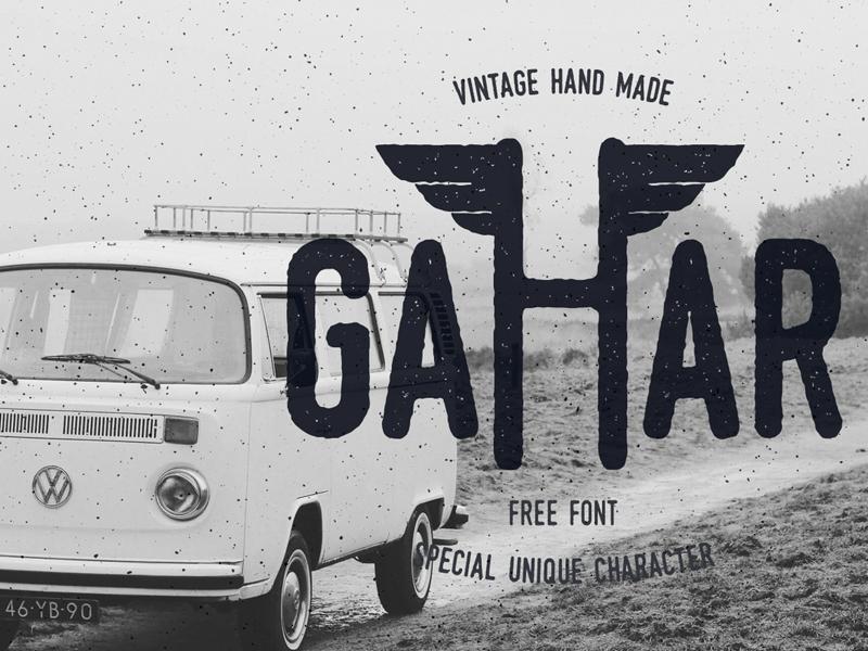 Gahar Font