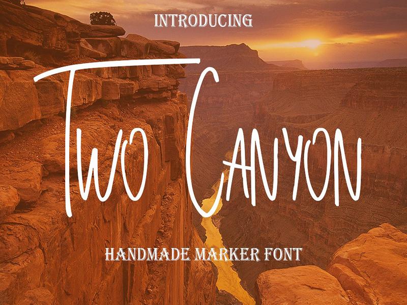 Two Canyon Font