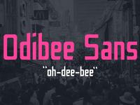 Odibee Sans Font