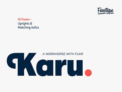 Karu Font typography typeface fonts font themes download portfolio design graphic freebies freebie free