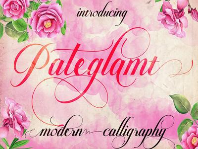 Pateglamt Script Font icons typefaces fonts font themes download portfolio design graphic freebies freebie free