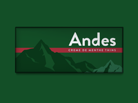 Andes Mints Packaging Redesign for Weekly Warmup