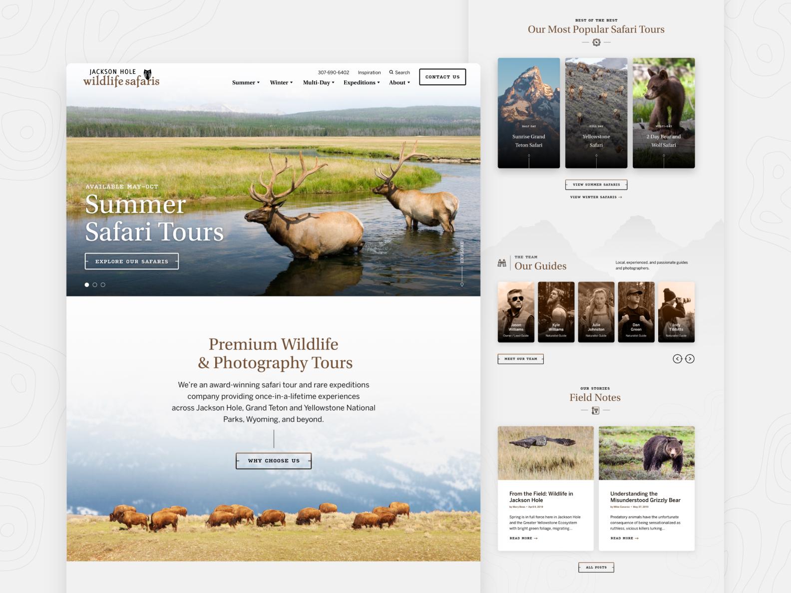 Jackson Hole Wildlife Safaris  —  1 𝑜𝑓 9