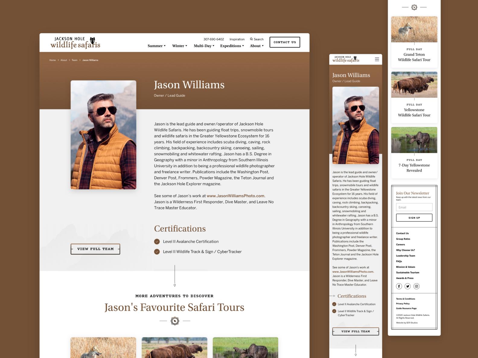Jackson Hole Wildlife Safaris  —  6 𝑜𝑓 9