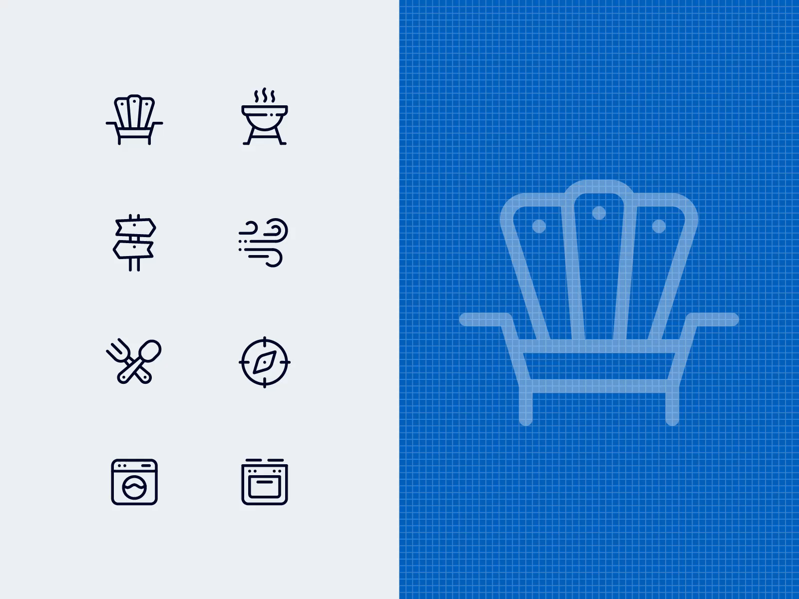Accommodations Icons