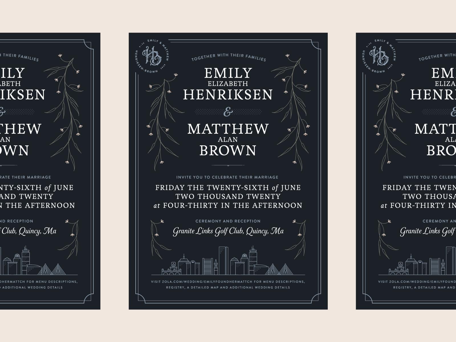 Henriksen-Brown Wedding — 1 𝑜𝑓 5