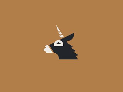 Donkeycorn animal fairytale cute logo character illustration branding mascot mark fantasy magic vector flat horse burro unicorn donkey