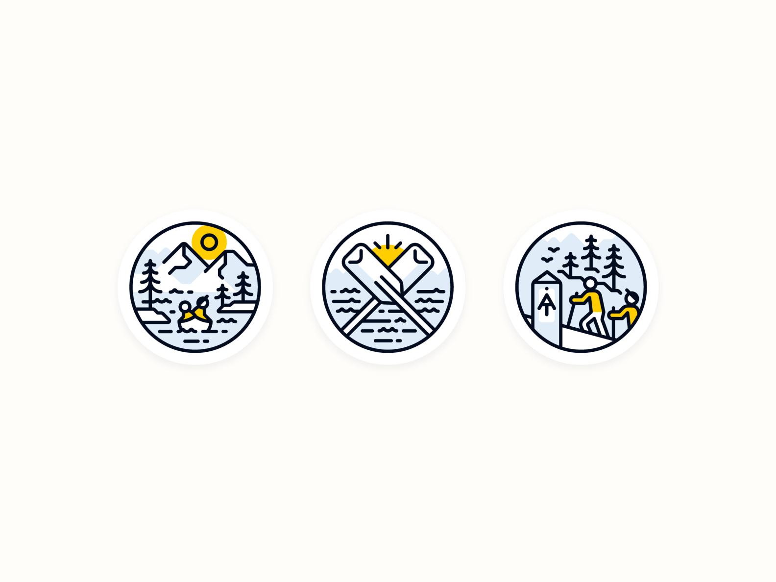Nantahala Outdoor Center Icon Set — 2 𝑜𝑓 2