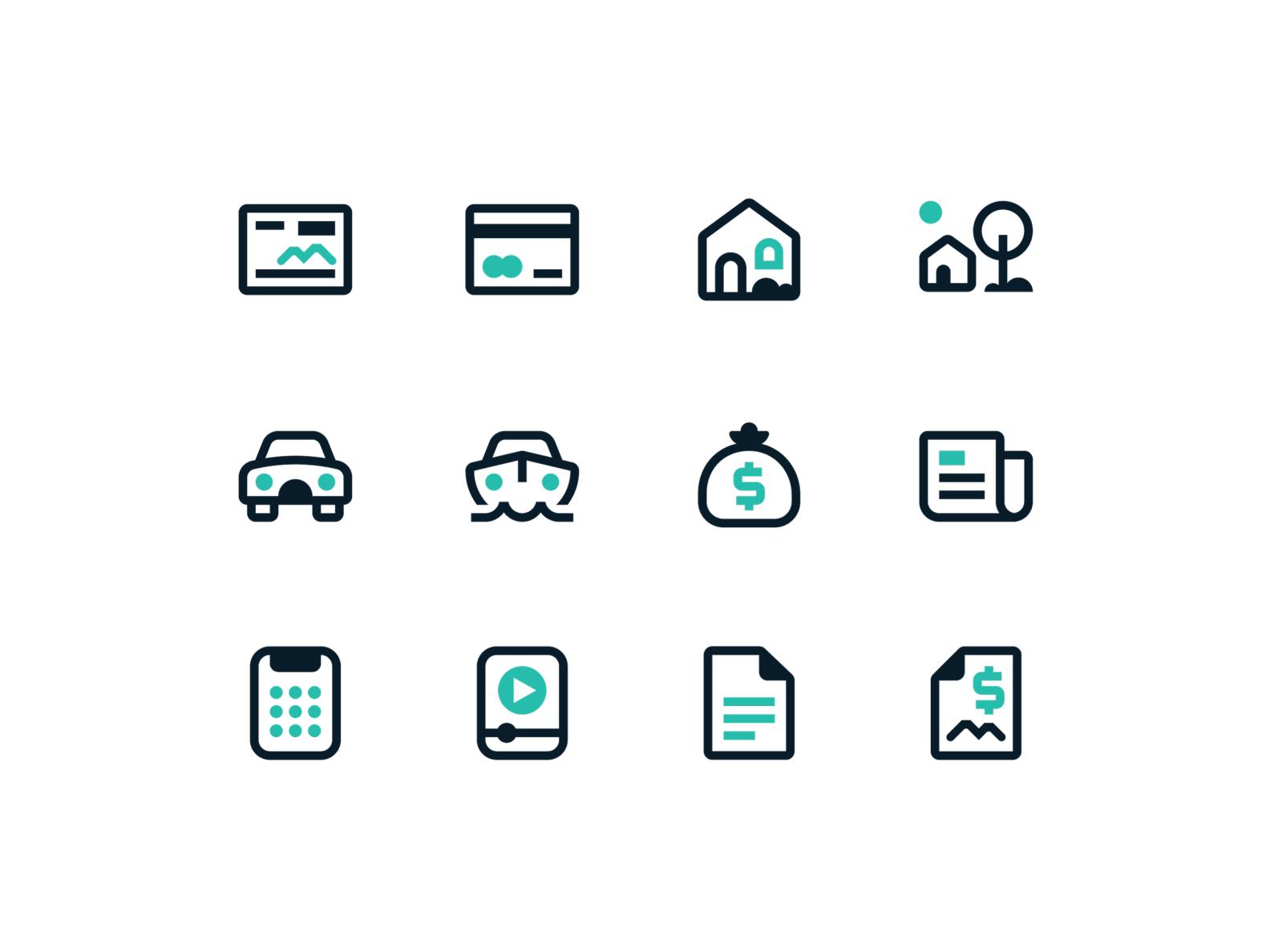 Kennebunk Savings Bank Icon System