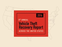 Vehicle Theft Recovery Report — 1/3