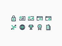 Web Security Co Icons — 1 𝑜𝑓 5