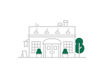 Waste Management Co Service Area Illustrations — 1 𝑜𝑓 4 branding minimal flat ui web design building architecture icon waste management service illustration