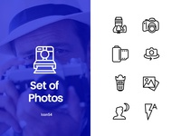 Photos icons