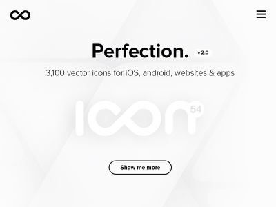 Black & white website ux ui site user interface user experience home page icons website landing page black  white