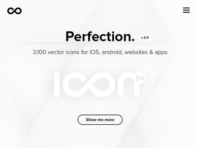 Black & white website