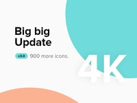 Big update we reach 4,000 icons :)