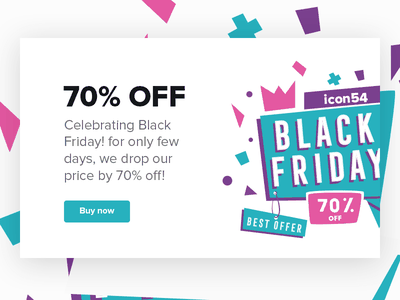 Black Friday Sale special offer svg icons icons54 background sale banner black friday