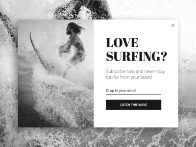 Surf to a new pop-ups standard