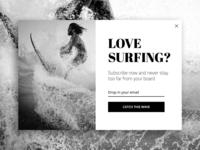 Surf to a new pop-ups standard