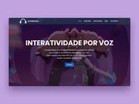 AudioSaga website