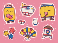 Festive Stickers
