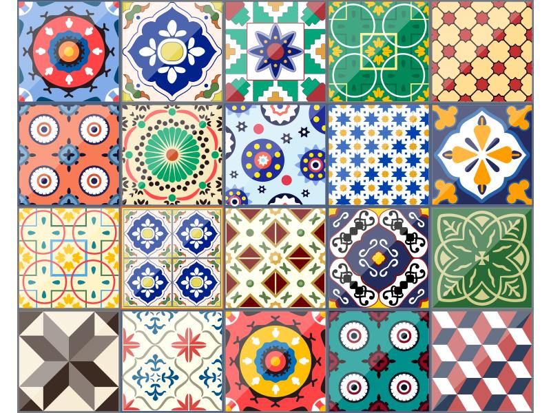Azulejo Patterns By Natalka Dmitrova Dribbble