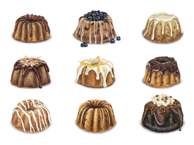 Mini bundt cakes mini pound cake cookies candy cupcake sweet tea coffee muffin cake dessert mini bundt cake