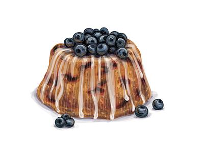 Cake with berries tea sweet muffin mini bundt cake dessert cupcake cookies coffee candy cake