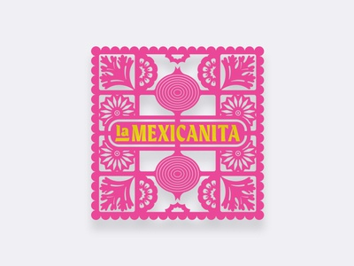 La Mexicanita: Mexican Goods mexican food brazil vector illustrator icon design logo illustration branding