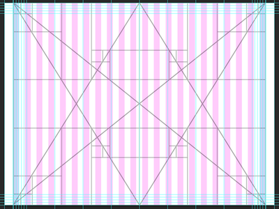 Golden Ratio Grid System for Web guide guidelines system useful tips golden ratio rectangle sections grid web website photoshop