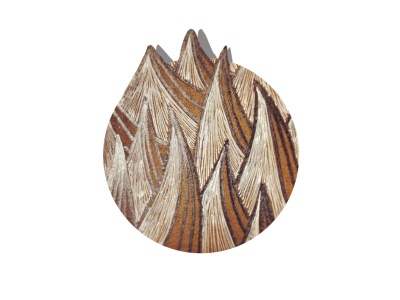 Mountain Muse gelpen sketchbook illustration 2d