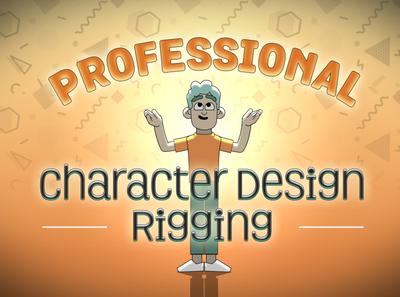 Professional Character design and rigging loop backwoods animation cartoon funny puppet 3d animation character motion graphics motiondesign motion design joysticksnsliders duik skillshare after effects tutorial rigging 2d animation animation