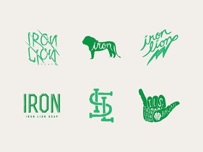 Iron Lion Soap Logos