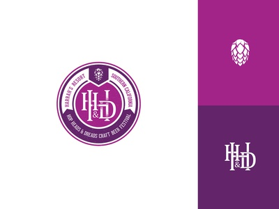 Hop Heads and Dreads Branding