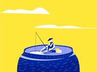 Pepsi Fishing