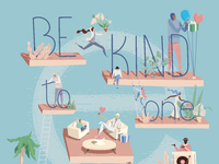 Be kind hd plan de travail 1