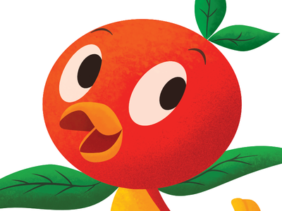 Little Orange Bird orange bird disney wdw walt disney world
