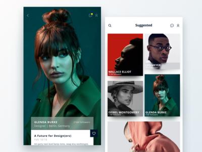 Social Media Profile & Search Exploration