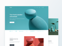 Product Landing Page Exploration for Home Speaker